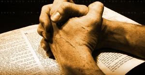 hands bible
